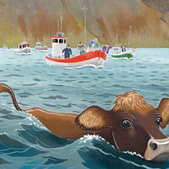La mucca islandese che nuotò verso la vita